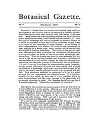 Botanical Gazette : 1880 ; Mar. No. 3 Vo... Volume Vol. 5 by Ruddat, M.