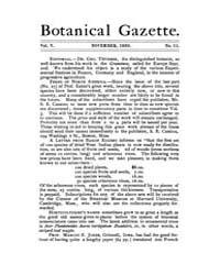 Botanical Gazette : 1880 ; Nov. No. 11 V... Volume Vol. 5 by Ruddat, M.