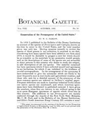 Botanical Gazette : 1883 ; Oct. No. 10 V... Volume Vol. 8 by Ruddat, M.