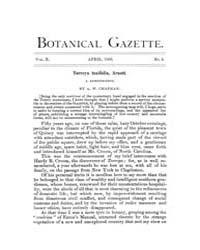 Botanical Gazette : 1885 ; Apr. No. 4 Vo... Volume Vol. 10 by Ruddat, M.