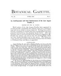Botanical Gazette : 1885 ; Jun. No. 6 Vo... Volume Vol. 10 by Ruddat, M.