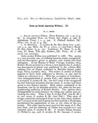 Botanical Gazette : 1889 ; May No. 5 Vol... Volume Vol. 14 by Ruddat, M.