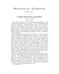 Botanical Gazette : 1892 ; Apr. No. 4 Vo... Volume Vol. 17 by Ruddat, M.