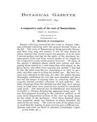 Botanical Gazette : 1893 ; Feb. No. 2 Vo... Volume Vol. 18 by Ruddat, M.