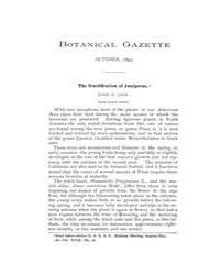 Botanical Gazette : 1893 ; Oct. No. 10 V... Volume Vol. 18 by Ruddat, M.