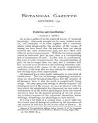 Botanical Gazette : 1893 ; Sep. No. 9 Vo... Volume Vol. 18 by Ruddat, M.