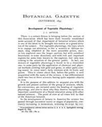 Botanical Gazette : 1895 ; Sep. No. 9 Vo... Volume Vol. 20 by Ruddat, M.