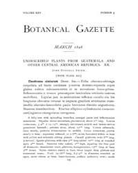 Botanical Gazette : 1898 ; Mar. No. 3 Vo... Volume Vol. 25 by Ruddat, M.