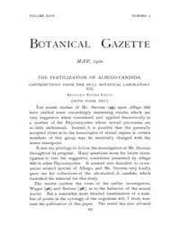 Botanical Gazette : 1900 ; May No. 5 Vol... Volume Vol. 29 by Ruddat, M.