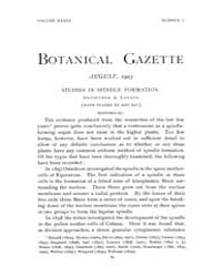 Botanical Gazette : 1903 ; Aug. No. 2 Vo... Volume Vol. 36 by Ruddat, M.