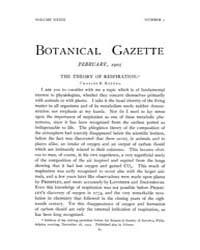 Botanical Gazette : 1905 ; Feb. No. 2 Vo... Volume Vol. 39 by Ruddat, M.
