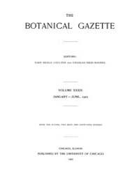 Botanical Gazette : 1905 ; Jan. No. 1 Vo... Volume Vol. 39 by Ruddat, M.