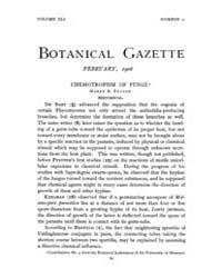 Botanical Gazette : 1906 ; Feb. No. 2 Vo... Volume Vol. 41 by Ruddat, M.