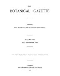 Botanical Gazette : 1907 ; Jul. No. 1 Vo... Volume Vol. 44 by Ruddat, M.