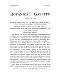 Botanical Gazette : 1908 ; Aug. No. 2 Vo... Volume Vol. 46 by Ruddat, M.