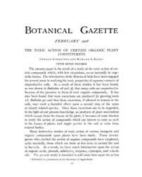 Botanical Gazette : 1908 ; Feb. No. 2 Vo... Volume Vol. 45 by Ruddat, M.