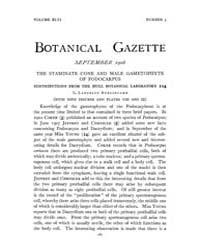 Botanical Gazette : 1908 ; Sep. No. 3 Vo... Volume Vol. 46 by Ruddat, M.