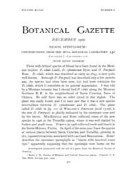 Botanical Gazette : 1909 ; Dec. No. 6 Vo... Volume Vol. 48 by Ruddat, M.