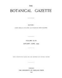 Botanical Gazette : 1909 ; Jan. No. 1 Vo... Volume Vol. 47 by Ruddat, M.