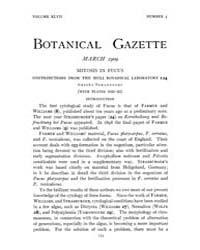 Botanical Gazette : 1909 ; Mar. No. 3 Vo... Volume Vol. 47 by Ruddat, M.