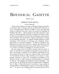 Botanical Gazette : 1910 ; May No. 5 Vol... Volume Vol. 49 by Ruddat, M.