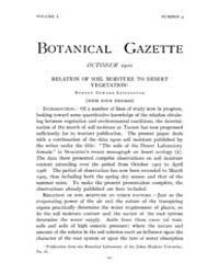 Botanical Gazette : 1910 ; Oct. No. 4 Vo... Volume Vol. 50 by Ruddat, M.