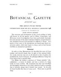 Botanical Gazette : 1911 ; Aug. No. 2 Vo... Volume Vol. 52 by Ruddat, M.