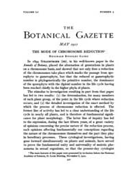 Botanical Gazette : 1911 ; May No. 5 Vol... Volume Vol. 51 by Ruddat, M.
