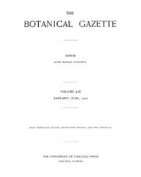 Botanical Gazette : 1912 ; Jan. No. 1 Vo... Volume Vol. 53 by Ruddat, M.