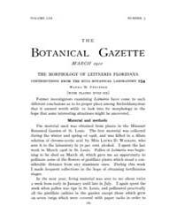 Botanical Gazette : 1912 ; Mar. No. 3 Vo... Volume Vol. 53 by Ruddat, M.
