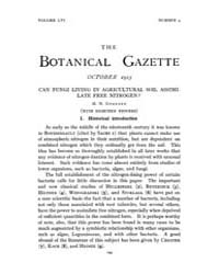 Botanical Gazette : 1913 ; Oct. No. 4 Vo... Volume Vol. 56 by Ruddat, M.