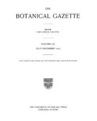 Botanical Gazette : 1915 ; Jul. No. 1 Vo... Volume Vol. 60 by Ruddat, M.