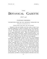 Botanical Gazette : 1916 ; May No. 5 Vol... Volume Vol. 61 by Ruddat, M.