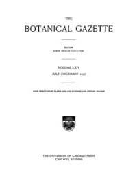 Botanical Gazette : 1917 ; Jul. No. 1 Vo... Volume Vol. 64 by Ruddat, M.