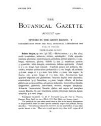 Botanical Gazette : 1920 ; Aug. No. 2 Vo... Volume Vol. 70 by Ruddat, M.