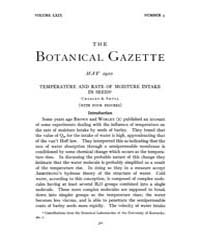 Botanical Gazette : 1920 ; May No. 5 Vol... Volume Vol. 69 by Ruddat, M.