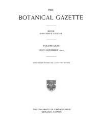 Botanical Gazette : 1921 ; Jul. No. 1 Vo... Volume Vol. 72 by Ruddat, M.