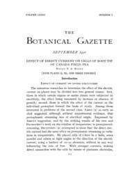 Botanical Gazette : 1921 ; Sep. No. 3 Vo... Volume Vol. 72 by Ruddat, M.