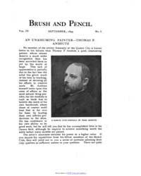 Brush and Pencil : 1899 ; Sep. No. 6 Vol... Volume Vol. 4 by Browne, Charles, Francis
