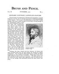 Brush and Pencil : 1901 ; Nov. No. 2 Vol... Volume Vol. 9 by Browne, Charles, Francis