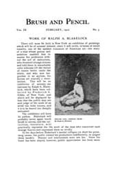 Brush and Pencil : 1902 ; Feb. No. 5 Vol... Volume Vol. 9 by Browne, Charles, Francis