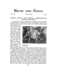 Brush and Pencil : 1905 ; May No. 5 Vol.... Volume Vol. 15 by Browne, Charles, Francis