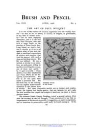 Brush and Pencil : 1906 ; Apr. No. 4 Vol... Volume Vol. 17 by Browne, Charles, Francis