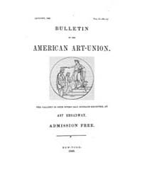 Bulletin of the American Art-union : 184... Volume Vol. 2 by