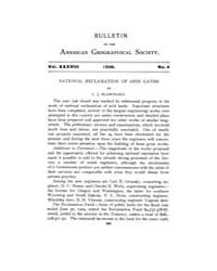 Bulletin of the American Geographical So... Volume Vol. 38 by C., Geo., Hurlbut