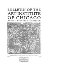 Bulletin of the Art Institute of Chicago... Volume Vol. 12 by Dougherty, Hampden, Paul