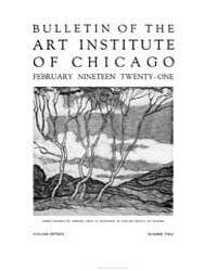 Bulletin of the Art Institute of Chicago... Volume Vol. 15 by Dougherty, Hampden, Paul