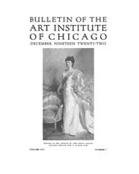 Bulletin of the Art Institute of Chicago... Volume Vol. 16 by Dougherty, Hampden, Paul