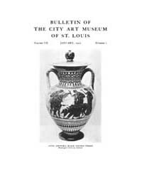 Bulletin of the City Art Museum of St. L... Volume Vol. 7 by Lemagny, J C