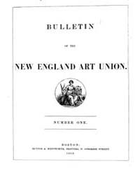 Bulletin of the New England Art Union : ... by
